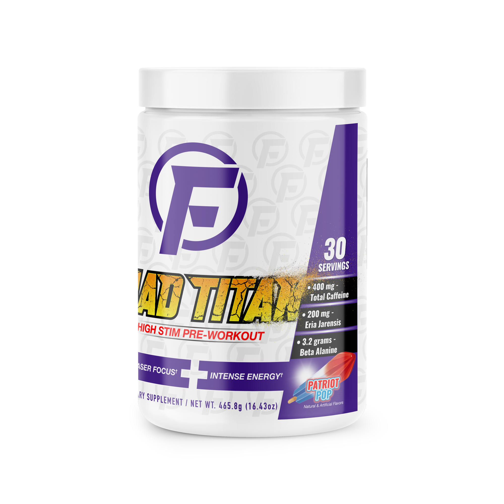 Mad Titan High Stim Pre Workout