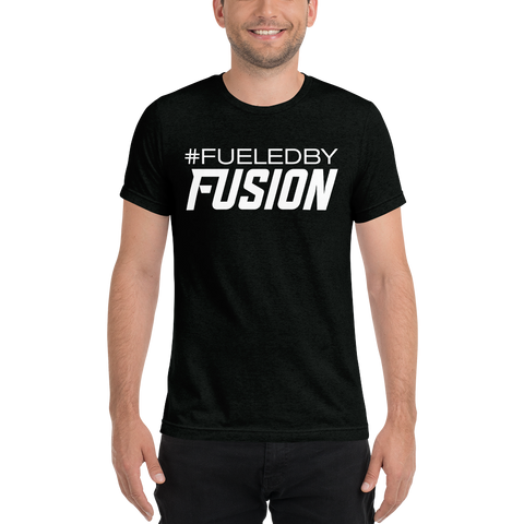 Fueled By Fusion Unisex Short sleeve t-shirt - Black