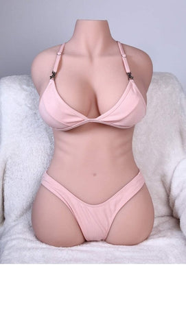 Sex Doll Masturbator with Vagina and Anal 3D Realistic with Torso