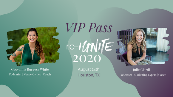 VIP Pass re-IGNITE 2020