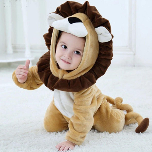 Baby Lion Jumpsuit - tinyjumps