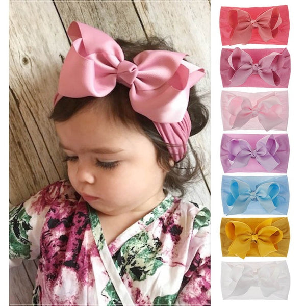 Stretchable Bow Headband - tinyjumps