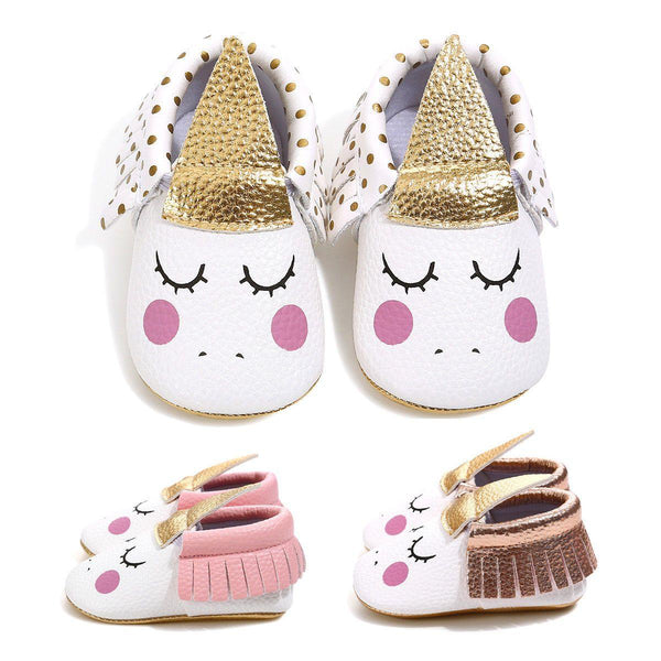 Unicorn Baby shoes - tinyjumps