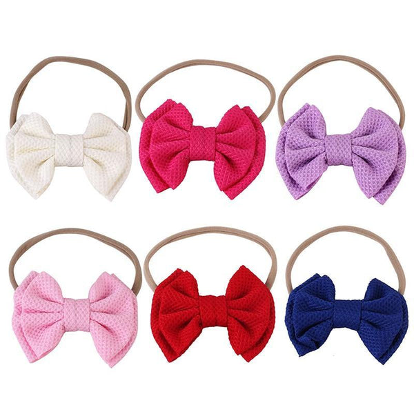 Baby Girl Bow Headband - tinyjumps
