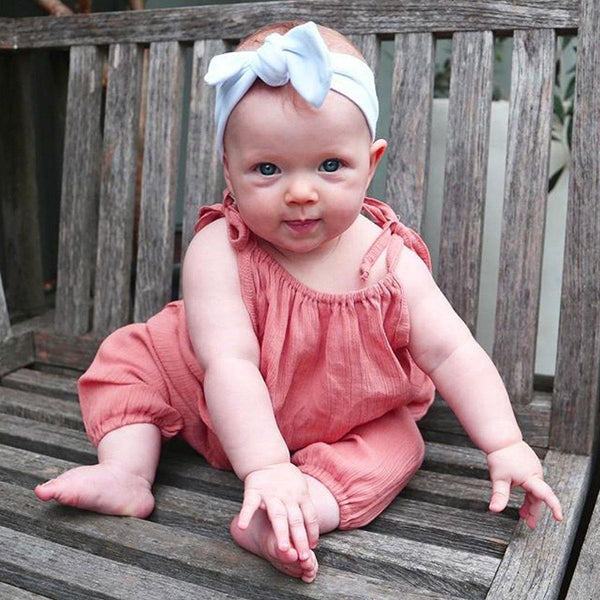 Baby Girl Sleeveless Summer suit - tinyjumps