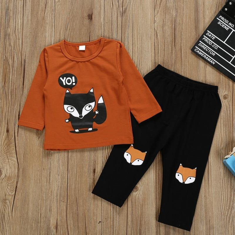 Animated Fox Clothing Set - tinyjumps