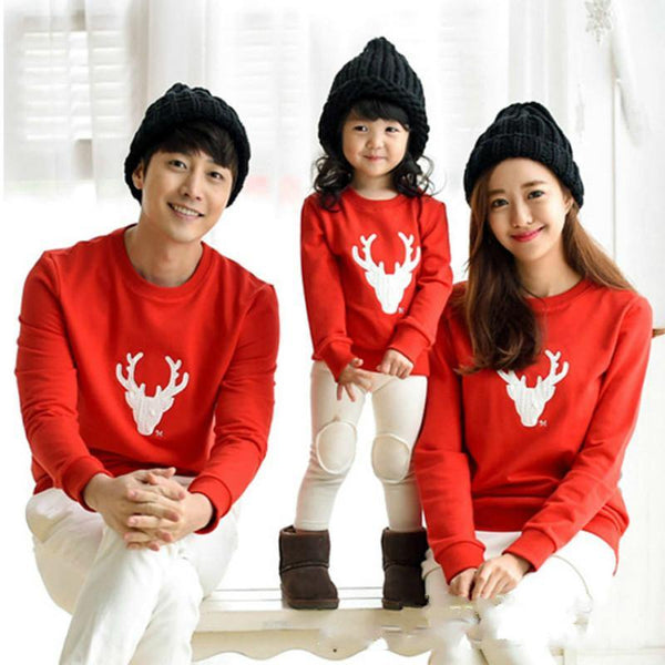 Matching Family Christmas Sweatshirts - tinyjumps