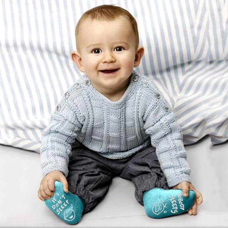 Funny Sole Baby Socks - tinyjumps
