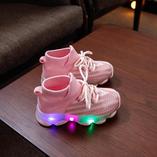 Flashing LED Sneakers - tinyjumps