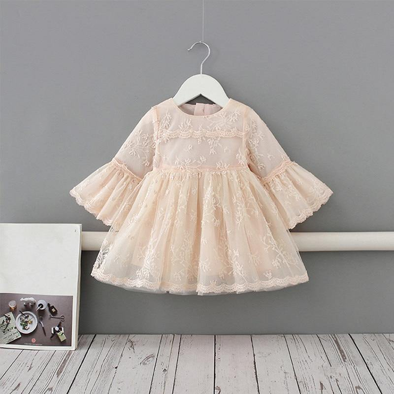 Princess Flare Lace Dress - tinyjumps
