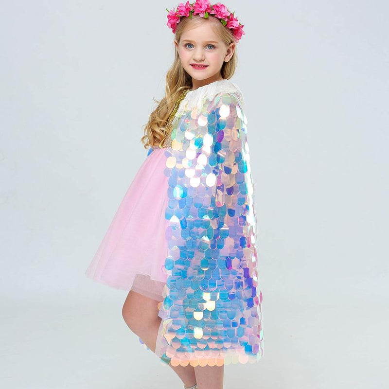 Sparkly Princess Cape - tinyjumps