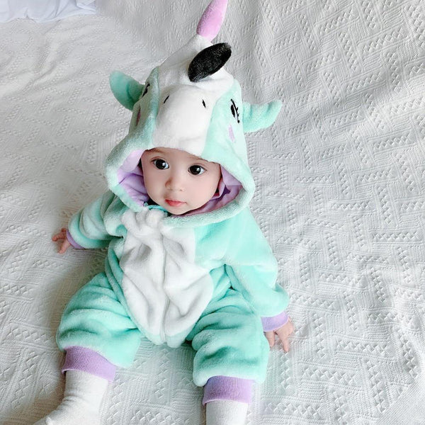 Whimsical Baby Unicorn Onesie - tinyjumps