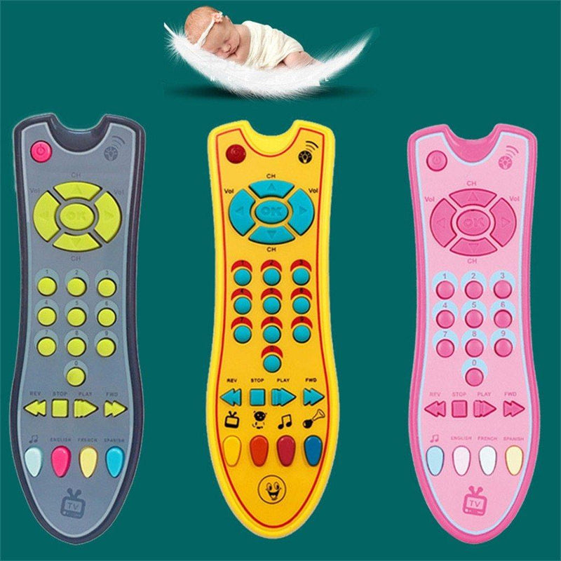 Musical TV Remote Control Toy - tinyjumps