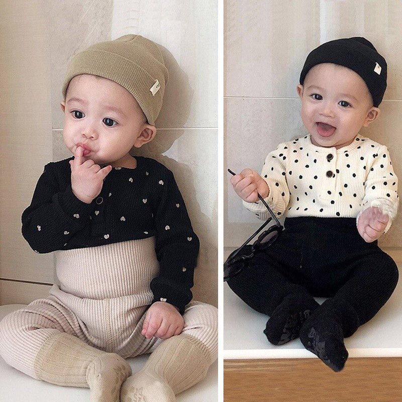 Little Heart Baby Bodysuits - tinyjumps