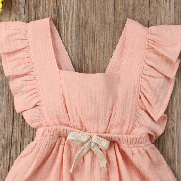 Frilly Romper for Little Darlings - tinyjumps