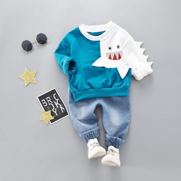 Baby Shark Outfit - tinyjumps