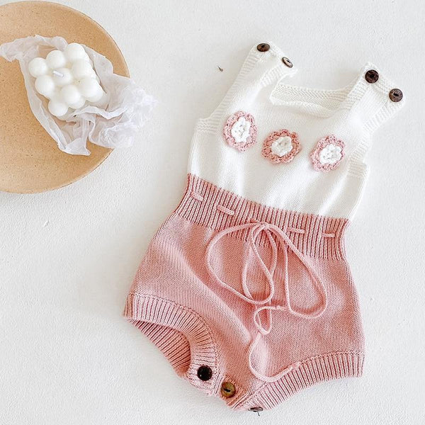 Baby Knitted Rompers - tinyjumps