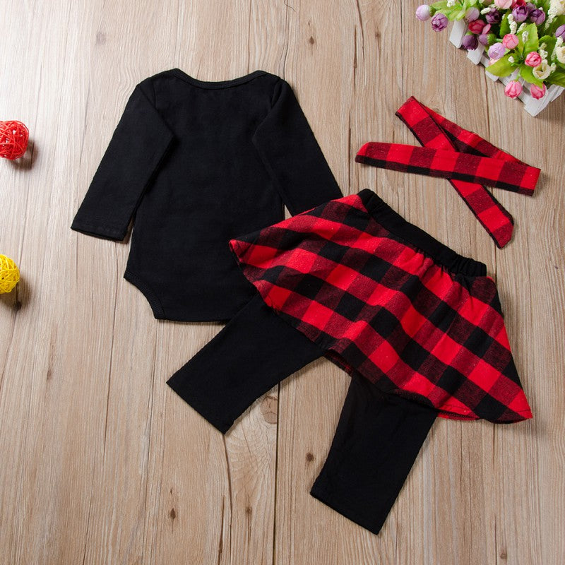 First Christmas Romper Outfit - tinyjumps