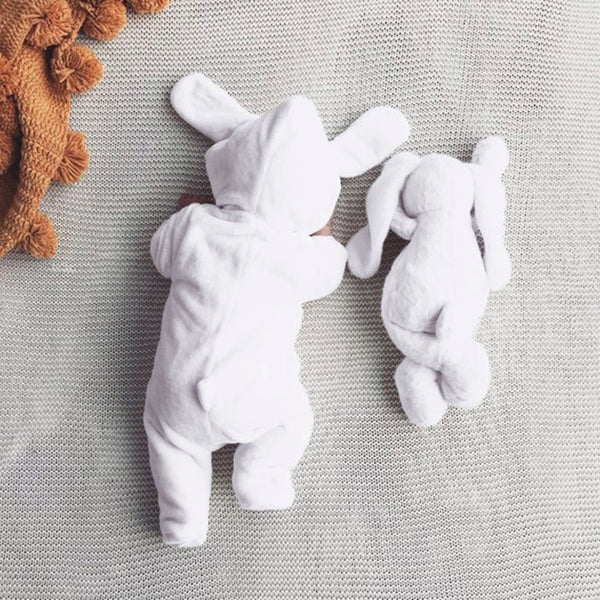 Hooded Bunny Jumpsuit - tinyjumps