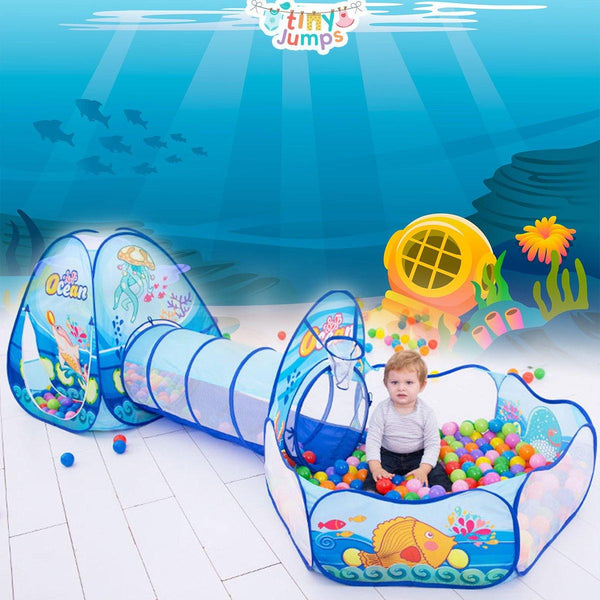 PORTABLE BABY BALL POOL TENT - tinyjumps
