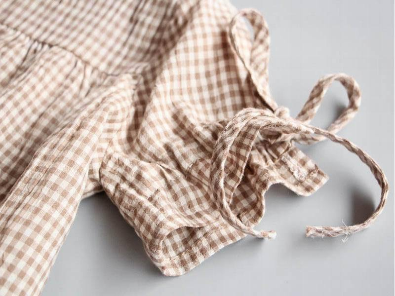Gingham Girls' Frock - tinyjumps