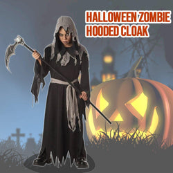 Halloween Zombie Hooded Cloak - tinyjumps