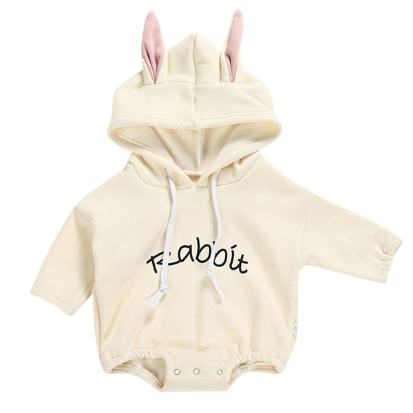 Hooded Bunny Romper - tinyjumps