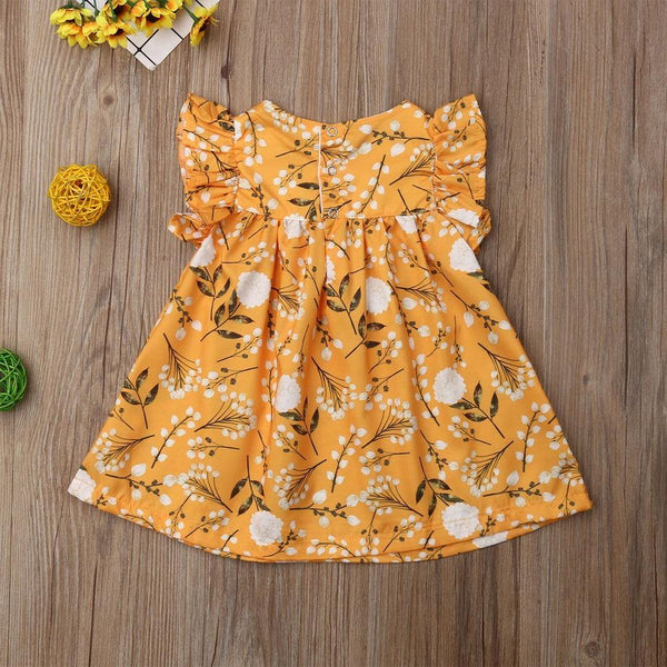 Baby Girl Floral Frock - tinyjumps