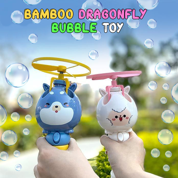 Bamboo Dragonfly Bubble Toy - tinyjumps