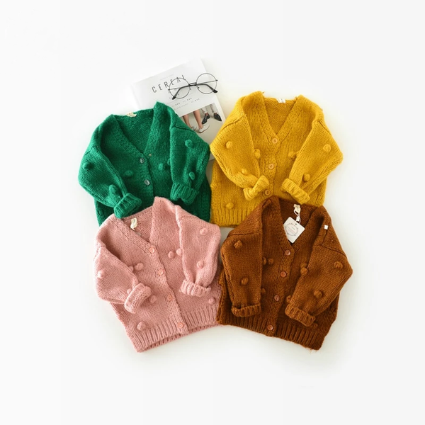 Baby Girl Knitted Sweater - tinyjumps