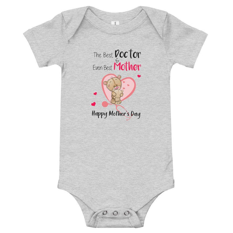 Best Doctor + Best Mother Romper - tinyjumps