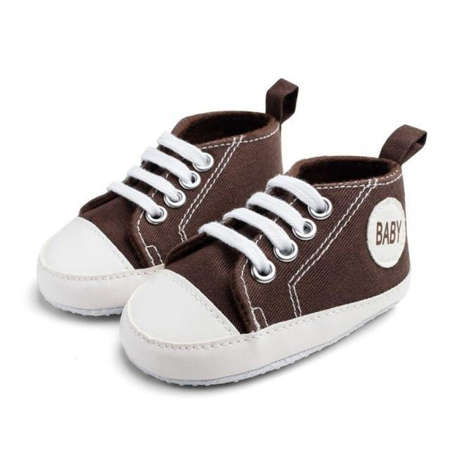 Baby Canvas Sneakers - tinyjumps