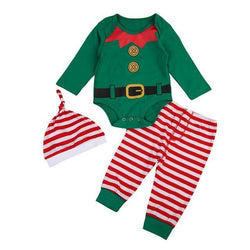 Christmas Elf Romper Set - tinyjumps