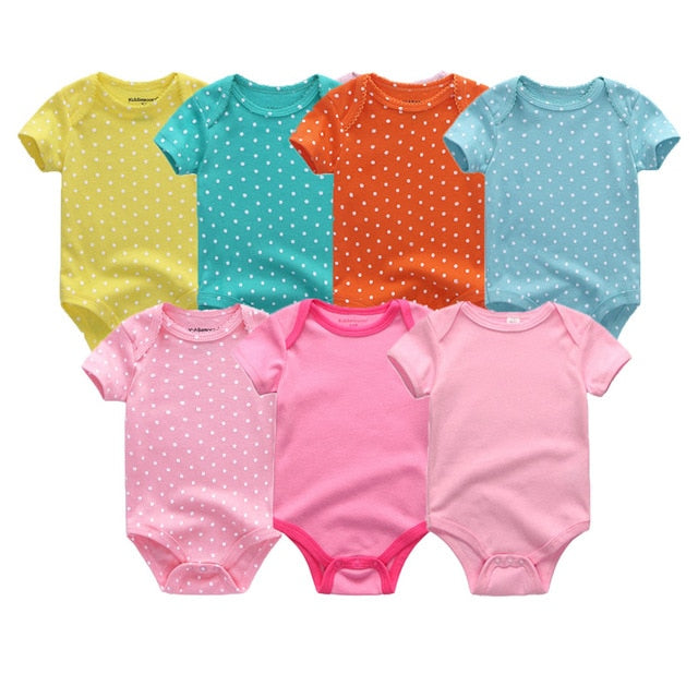 Multicolored Packs of Rompers - tinyjumps