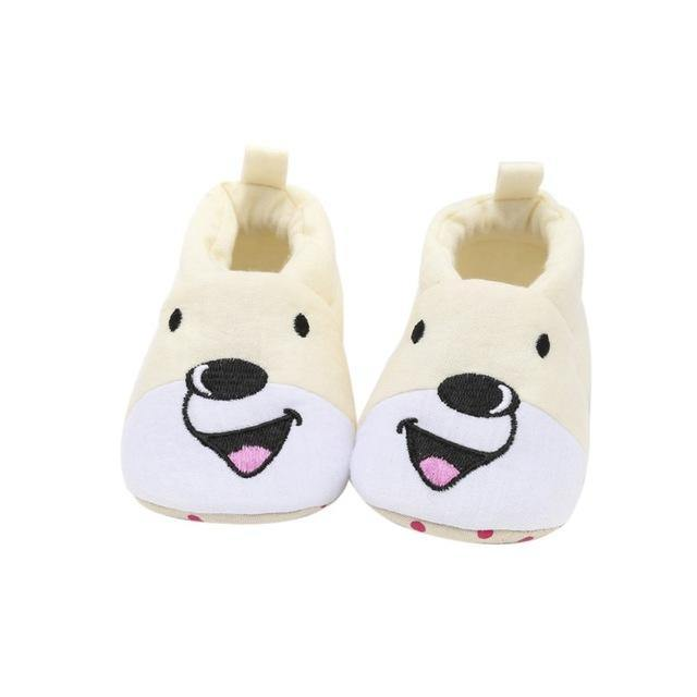 Bear Cub Cotton Shoes - tinyjumps