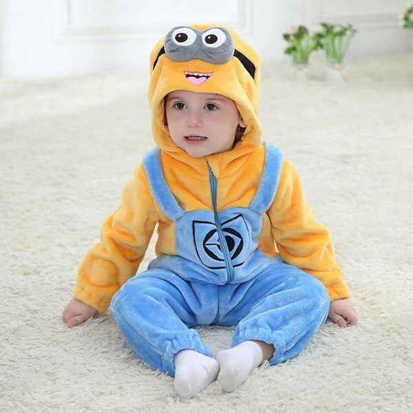 Little Minion Jumpsuit - tinyjumps