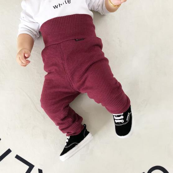 Ribbed Cotton Baby's Pants - tinyjumps