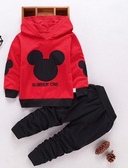 Mickey Silhouette Clothing Set - tinyjumps