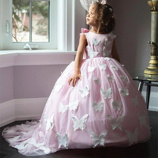 Butterfly Ball Gown Dress - tinyjumps