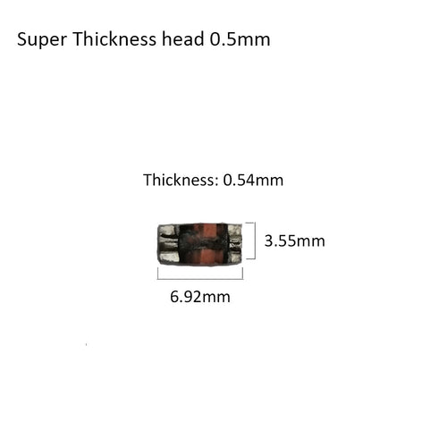 0.5mm magnetic head Ultra- thin  tracks 1