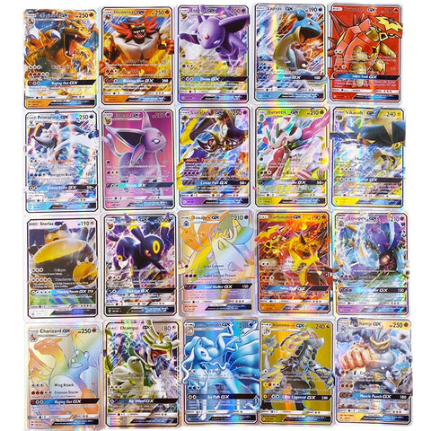 Image of Pokemon GX card Shining Game Battle Carte.