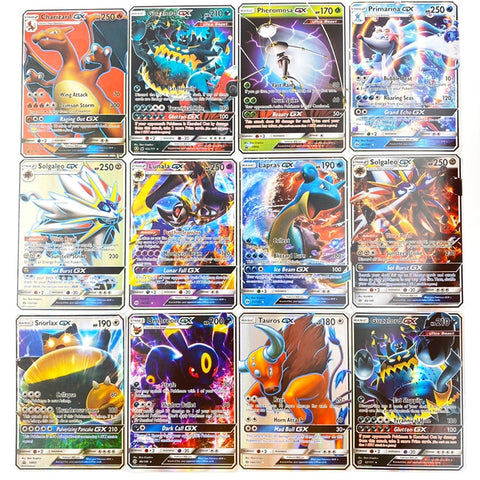 Pokemon GX card Shining Game Battle Carte.