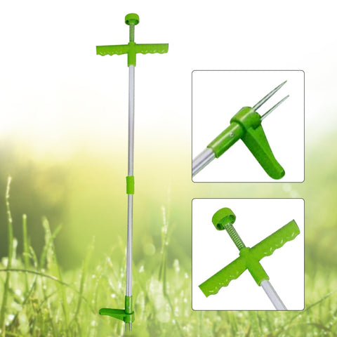 Image of Tool Portable, Long Handled Lightweight, Long Handle Garden Weeding Tool with 3 Claws