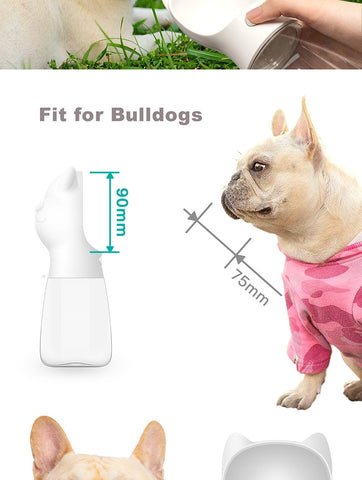 Portable Water Bottle, For Small, Large Dogs, and Cats.