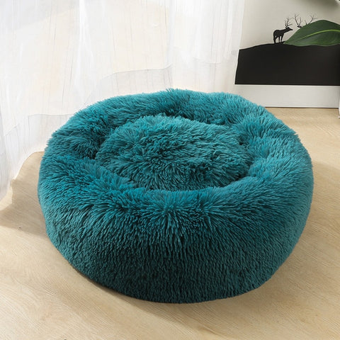 Image of Soft Plush Pet Cushion, Improved Sleep for Cats & Dogs (Multiple Sizes)