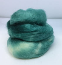 Load image into Gallery viewer, Top - Hand Dyed BFL Top - one ounce - Teal