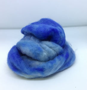 Top - Hand Dyed BFL Top - one ounce - Heavenly Shades