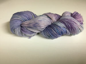 Fingering Weight Glitter Base Yarn - Lilac
