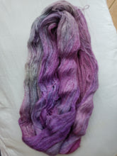 Load image into Gallery viewer, Lace Weight BFL Silk Yarn - French Lilac