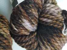 Load image into Gallery viewer, Bulky Weight Superfine Superwash Merino Yarn - Chocolate and Cream